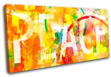 Peace abstract Typography - 13-0647(00B)-SG21-LO